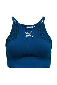 Sports Top with Logo Print