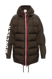 Moncenisio down jacket with hood