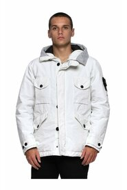 David Hooded Mid Lenght Down Jacket