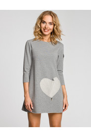 Sukienka z sercem M053