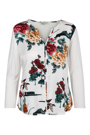 Everyday top w/print Haust Collection