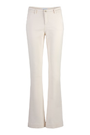 By-Bar LEILA TWILL PANT - OFF WHITE
