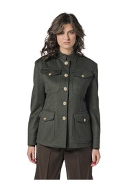 MILITARY JACKET IN LODEN