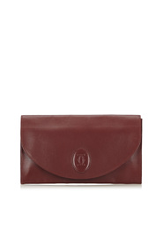 Mast de Cartier Leather Clutch