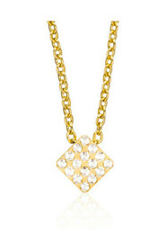 Halsband Brilliance Square Crystal