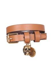 Double Wrap Skull Bracelet
