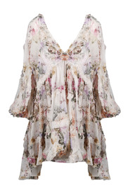 BRIGHTON FRILL BILLOW DRESS