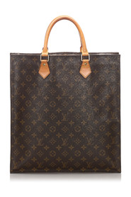 Monogram Sac Plat Canvas