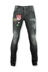Jeans patches Mannen