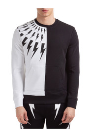 sweatshirt half thunder fairisle
