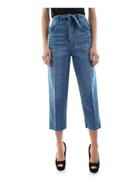 PINKO MORGAN 2 JEANS Women DENIM MEDIUM BLUE