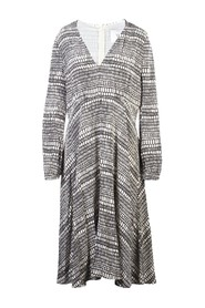 Deep V Neck Dress Pre Owned Condition Very Good