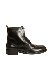 7484 polido leather brogues boots