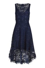Vera Mont - 2550 4489 - Blauw kanten kleed