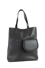 Surag Leather Shopper