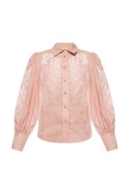 Shirt with cut-out details
