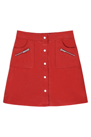 Studio AR Skirt Lys in Denvey Pepper
