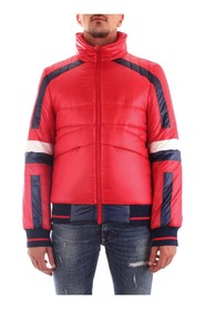 BIKKEMBERGS CH08201T9846 Coat Men RED
