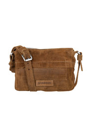 Crossbody Small Waxed Suede