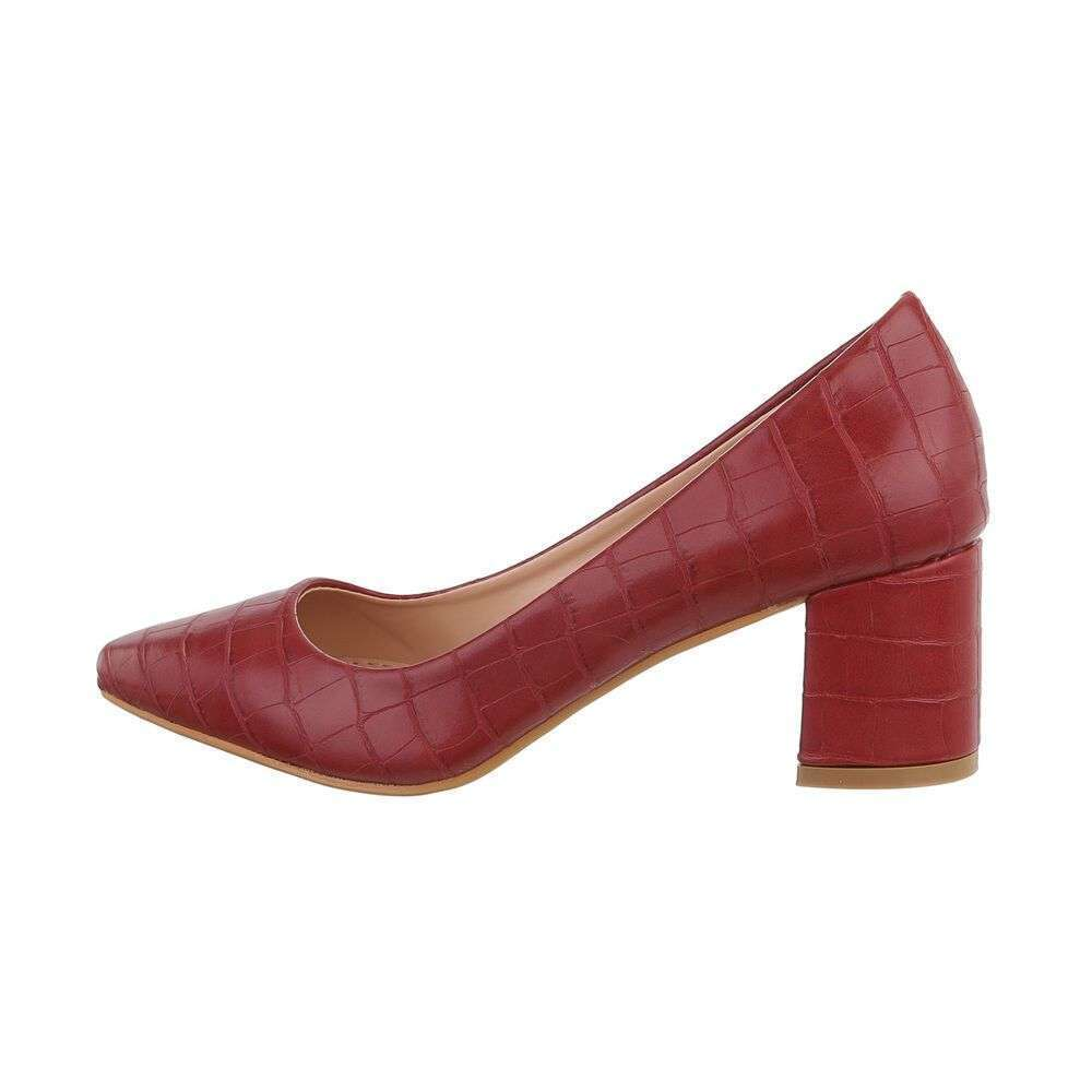 Burgundy Pumps  GIVANA  Pumps - Sko Til Dame