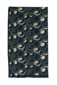 Deco patterned scarf