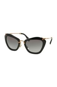 Sunglasses MU 10NS Noir 1AB3M1