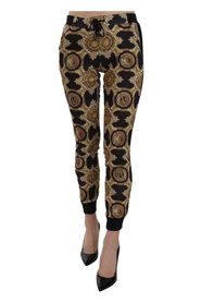 Tryckt Elastisk COUTURE Trackpants