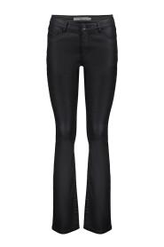 Pants flair coated