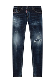 Anniversary Super Low Jeans distressed