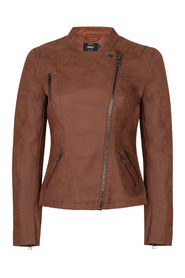 Ava faux leather jacket Only