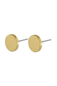 Earrings Vanity Circle Dot