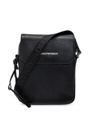 Shoulder bag with logo