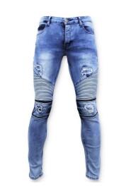 Biker Jeans Skinny - 3020-16