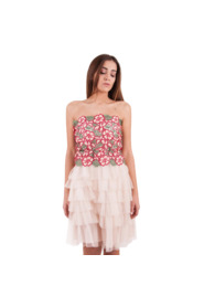 CORA DRESS WITH FLOWERS AND TULLE SKIRT