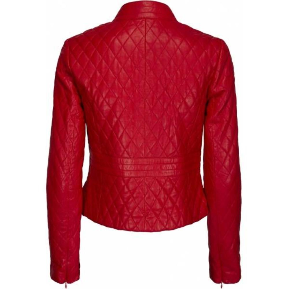 ONSTAGE Red Leather jacket ONSTAGE
