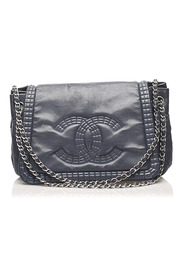 CC Chain Lambskin Leather Shoulder Bag