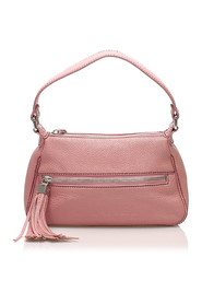 Tassel Leather Shoulder Bag