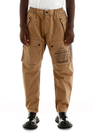 Cargo trousers with logo