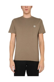 T-SHIRT WITH LOGO PATCH