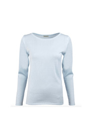 Merino Boat Neck Sweater - Strik med bådhals