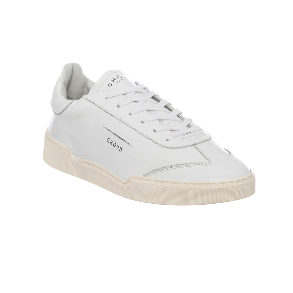 White SNEAKER MOD. LOB01 SUEDE | Ghoud | Sneakers | Herenschoenen
