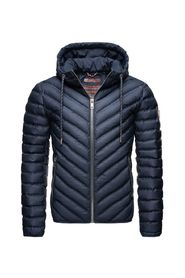 Quilted transition jacket Feytun with hood