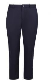 slim cut tailored trousers