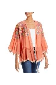 Bahari Ruffle Kimono