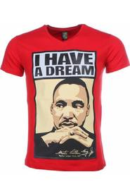 T-shirt - Martin Luther King I Have A Dream Print