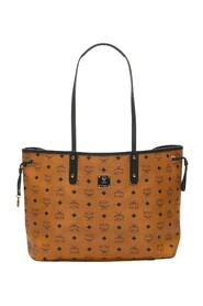 Medium Visetos Reversible Liz Leather Tote