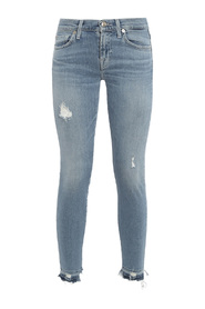 SKINNY CROP LUXE JEANS