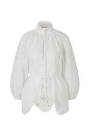 Embroidered Carnaby Long Blouse
