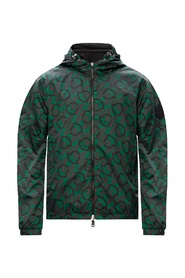 Cretes reversible jacket with logo