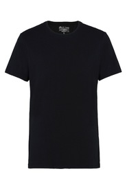 Bread & Boxers Crew-Neck Black T-shirt